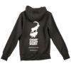 cheviot goat hoodie